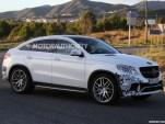 2016 Mercedes-AMG GLE63 Coupe spy shots