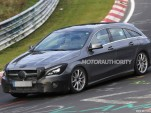 2016 Mercedes-Benz CLA Shooting Brake facelift - Image via S. Baldauf/SB-Medien