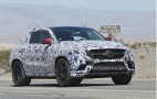 2016 Mercedes-Benz M-Class Coupe Spy Shots
