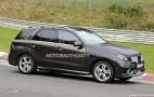 2016 Mercedes-Benz M-Class (GLE) Spy Shots