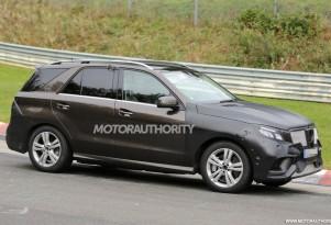 2016 Mercedes-Benz GLE (M-Class) spy shots