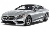 2016 Mercedes-Benz S Class 2-door Coupe S550 4MATIC Angular Front Exterior View