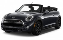 2016 MINI Cooper Convertible 2-door S Angular Front Exterior View