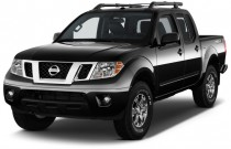 2016 Nissan Frontier 4WD Crew Cab SWB Auto PRO-4X Angular Front Exterior View