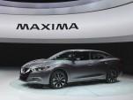 2016 Nissan Maxima  -  2015 NY Auto Show live photos