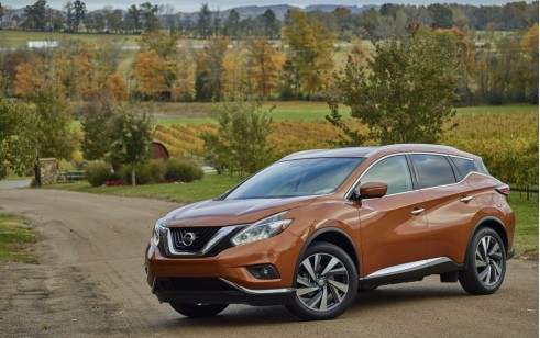 2016 Nissan Murano vs Ford Edge, Hyundai Santa Fe Sport, Jeep Grand ...