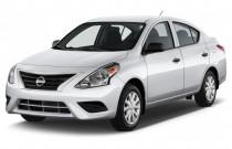 2016 Nissan Versa 4-door Sedan CVT 1.6 SV Angular Front Exterior View