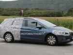 2016 Opel Astra Sports Tourer (wagon) spy shots - Image via S. Baldauf/SB-Medien