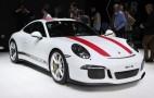 2016 Porsche 911 R debuts at Geneva auto show