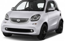 2016 Smart fortwo 2-door Coupe Prime Angular Front Exterior View