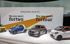 2016 Smart ForTwo And ForFour: World Debut Live Photos