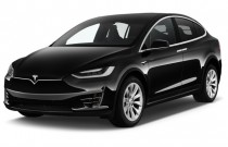 2016 Tesla Model X AWD 4-door 75D Angular Front Exterior View