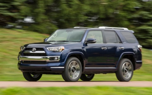 2016 Toyota 4Runner vs Ford Explorer Jeep Grand Cherokee Jeep