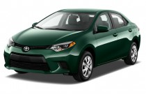 2016 Toyota Corolla 4-door Sedan CVT LE ECO (Natl) Angular Front Exterior View