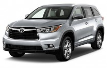 2016 Toyota Highlander FWD 4-door V6  Limited (Natl) Angular Front Exterior View