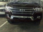 2016 Toyota Land Cruiser leak - Images via UZJ100GXR