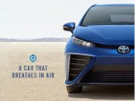 2016 Toyota Mirai: 'A car that breathes in air,' posted by Toyota, Feb 2015