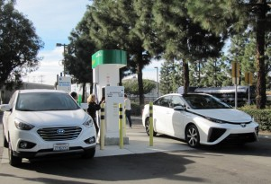 Toyota to build megawatt electric and hydrogen plant fueled by California bio-waste
