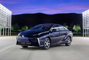 Toyota Mirai Fuel-Cell Car To Get Global Showcase At 2020 Olympics