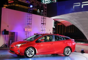 2016 Toyota Prius: Few Details At Global Launch Of 55-MPG Hybrid (Photos)
