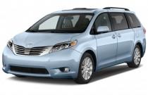 2016 Toyota Sienna 5dr 7-Pass Van Ltd FWD (Natl) Angular Front Exterior View