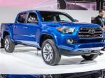 2016 Toyota Tacoma live photos, 2015 Detroit Auto Show