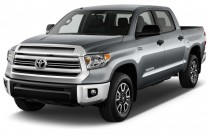 2016 Toyota Tundra CrewMax 5.7L V8 6-Spd AT TRD Pro (Natl) Angular Front Exterior View