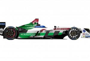2017/2018 Audi e-tron FE04 Formula E racecar