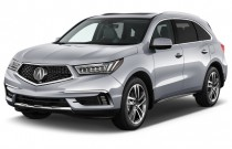 2017 Acura MDX SH-AWD w/Advance/Entertainment Pkg Angular Front Exterior View