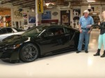 2017 Acura NSX at Jay Leno's garage
