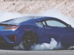 2017 Acura NSX does donuts