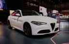 2017 Alfa Romeo Giulia's regular trim levels revealed in Geneva: Live photos