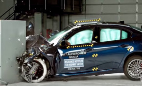 2017 Alfa Romeo Giulia crash test