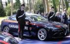 Italian police get their hands on Alfa Romeo's Giulia Quadrifoglio