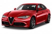2017 Alfa Romeo Giulia Quadrifoglio RWD Angular Front Exterior View