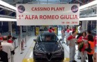 Alfa Romeo Giulia production gets underway in Italy