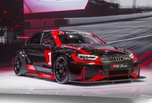 2017 Audi RS 3 LMS race car