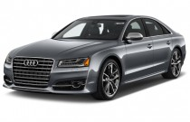 2017 Audi S8 plus 4.0 TFSI Angular Front Exterior View