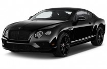 2017 Bentley Continental GT GT Coupe Angular Front Exterior View