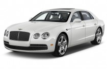 2017 Bentley Flying Spur W12 Sedan Angular Front Exterior View