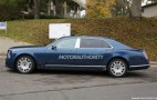 2017 Bentley Mulsanne Long-Wheelbase Spy Shots