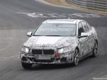 2017 BMW 1-Series sedan spy shots - Image via S. Baldauf/SB-Medien