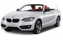2017 BMW 2-Series 230i Convertible Angular Front Exterior View