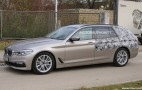 2017 BMW 5-Series Sports Wagon (Touring) spy shots