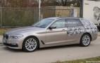 2017 BMW 5-Series Sports Wagon (Touring) spy shots