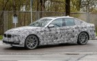 2017 BMW 5-Series spy shots and video