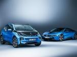 2017 BMW i3 and 2017 BMW i8