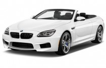 2017 BMW M6 Convertible Angular Front Exterior View