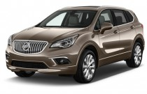 2017 Buick Envision AWD 4-door Premium II Angular Front Exterior View