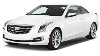 2017 Cadillac ATS Coupe 2-door Coupe 3.6L Premium Performance RWD Angular Front Exterior View